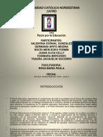 Pacto Por La Educacion, Powerpoint