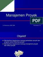 Management Proyek 2