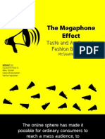 [Presentation] The Megaphone Effect