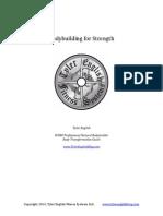 Bodybuilding for Strength 4 Week Program