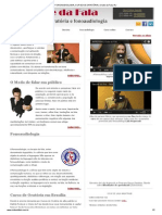 FONOAUDIOLOGIA, CURSOS E ORATÓRIA _ Clube da Fala, RJ