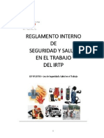 Regla Men to Intern Ode Seguridad y Salud