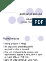 Substance Misuse