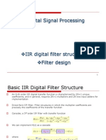 IIR Digital Filter Structures Filter Design
