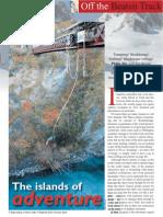 New Zealand Adventure Feature. The Travel & Leisure Magazine