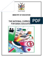 National Curriculum for Basic Education Jan10