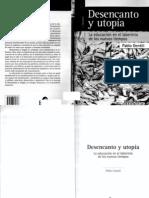 Gentili Pablo-Desencanto y Utopia