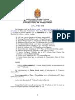 Acta Junta Municipal Distrito Beiro Noviembre 2013