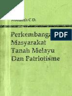 Perkembangan Masyarakat Tanah Melayu Dan Patriotisme