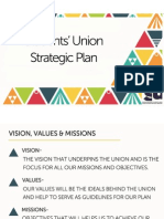 Students' Union Strategic Plan