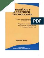 Enseñar y aprender Tecnología - M. Barón Nov. Educ. - 1ra. parte orig.word