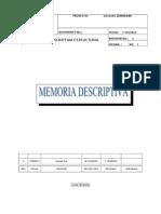 Memoria Descriptiva Modelo 1
