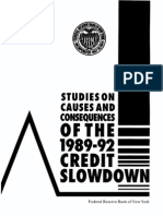 Credit Slowdown 1994 Frbny