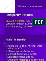 Falciparum Malaria by Dr Sarma