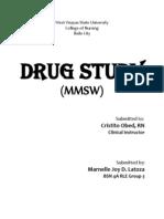 Drug Study (Medication Nurse)