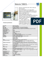 Ultrasonic Flaw Detector TUD210