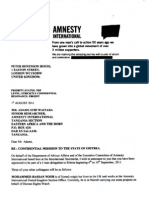 Amnesty Conspiracy Against Eritrea (Leak)