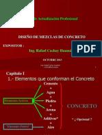 DISEÑO DE MEZCLAS DE CONCRETO - ING. RAFAEL CACHAY HUAMAN 10 10 13