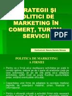 STRATEGII ŞI POLITICI DE MARKETING IN CTS
