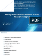 Moving Object Detection Based on Multiple Quadrant Histogram Ver1a