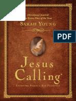 Jesus Calling Devotional Journal