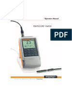 Feritscope Manual