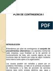 Plan de Contingencia I para proyectos informaticos