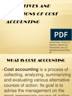Objectives and Functions of Cost Accounting
