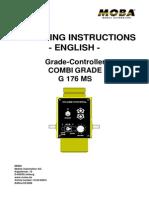 10-02-00541 Bedienungsanleitung, G176 MS (Eng)