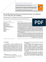 The Double Bind of Poverty and Community Disaster Risk Reduction a Case Study From the Caribbean