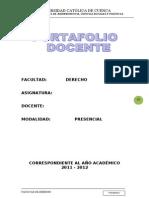 GUÍAS PORTAFOLIO DOCENTE