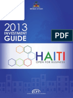 2013 Investment Guide to Haiti