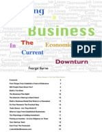 Starting a Business in the Current Economic Downturn