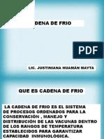 Cadena Frio Cred- Unsa 2013