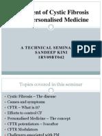 Technical Seminar on cystic fibrosis