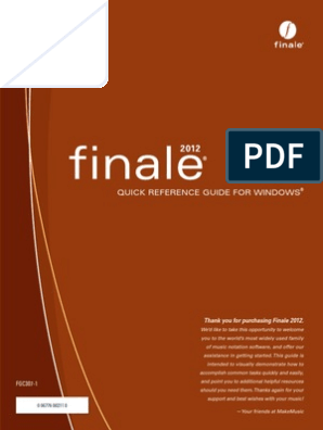 Finale 2012 Manual PDF pdf | Computer Keyboard | Keyboard