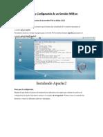 Manual Instalación y Configuración de un Servidor WEB en Debian