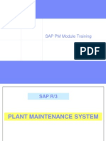 SAP PM Training Important