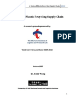 Plastic Recycling SCM Project