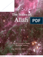 The Scales of Allah