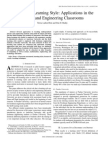 2001_Research on Learning Style Applications in The