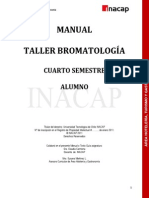 Manual Bromatología Alumno