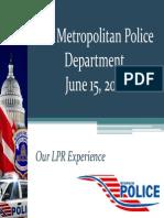 MPD LPR Presentation
