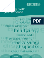 Getting It Right Dealing With Grievances Accessible Version July 2011