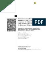 Garcia Et Al 2012. Brucelosis, Condicion Socioeconomica Familiar y Calidad de Vida