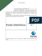 138680976 Ponto Eletronico P11