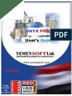 Yemensoft Onyx Pro - User's Guide