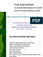 Bioversity Dixon Li 2008 AprSLP Addis Biofuels Livestock Final