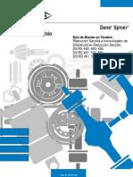 Manual de Servicio Caja de Cambio - DANA