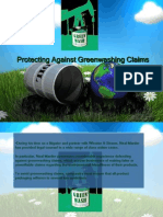 Protecting Against Greenwashing Claims